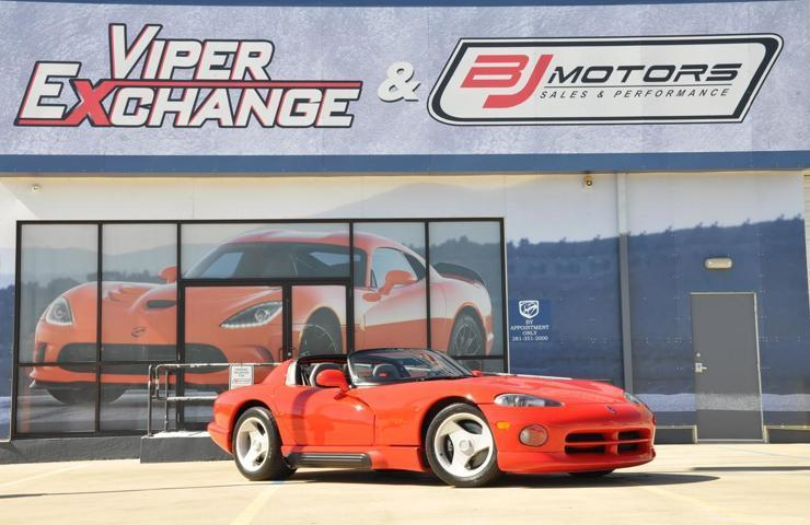 Used 1993 Dodge Viper Low Production Antenna Car Sports Car For Sale
