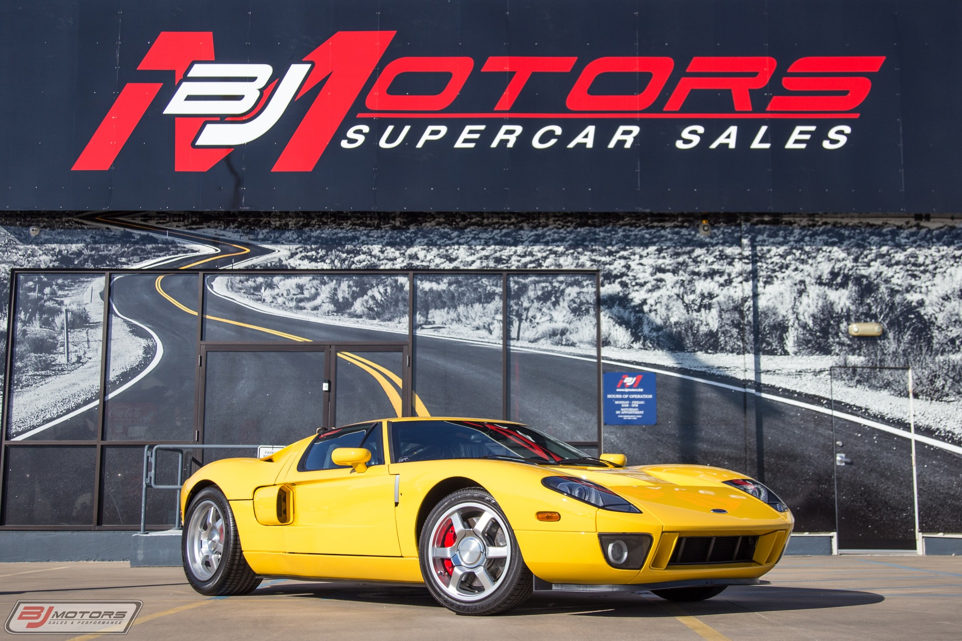 Used-2006-Ford-GT-1-of-2-Built-In-Speed-Yellow-Rare-Production