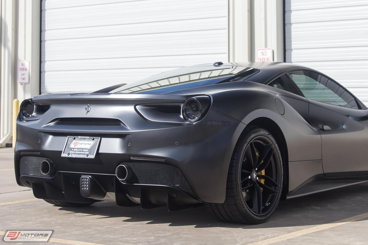 used 2017 ferrari 488 gtb matte black for sale ($272,995) | bj