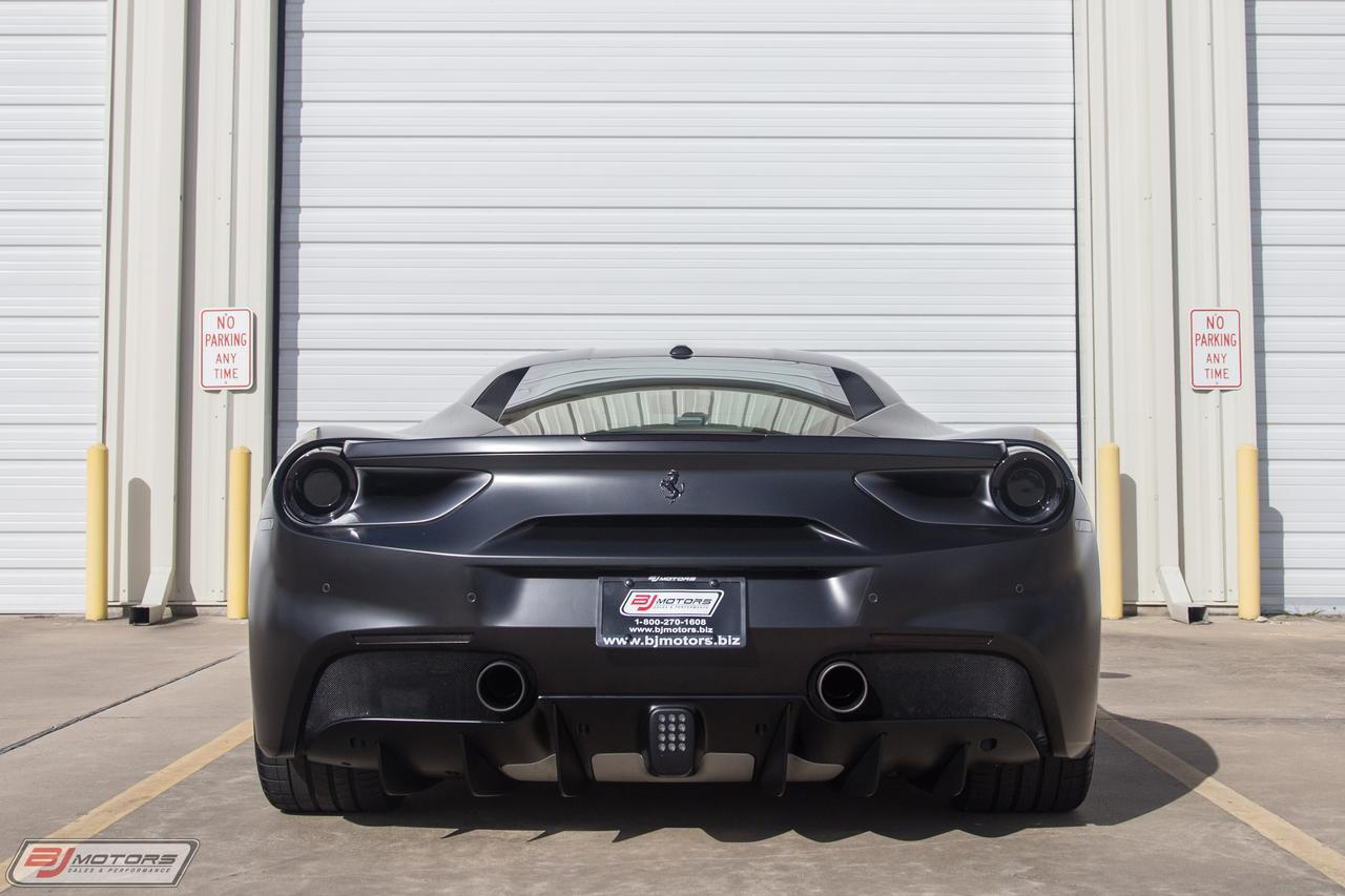 used 2017 ferrari 488 gtb matte black for sale 272 995 bj
