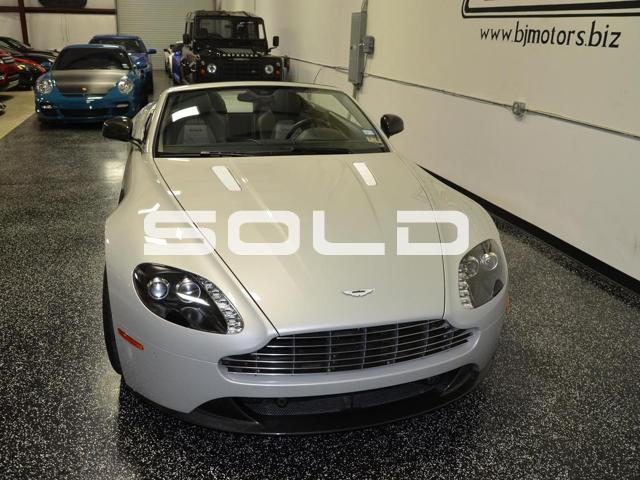 Used 2013 Aston Martin V8 Vantage S For Sale Special Pricing Bj