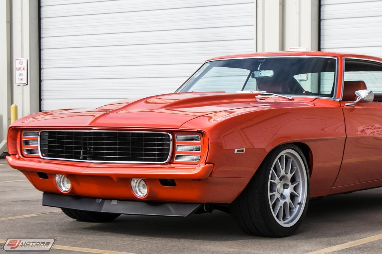 Pro Touring Cars For Sale >> Used 1969 Chevrolet Camaro Pro Touring For Sale 129 995
