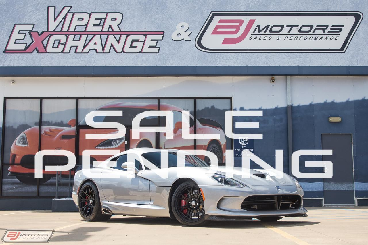 Used 2015 Dodge Viper Ta 1 0 Group Gtc For Sale 92 995 Bj