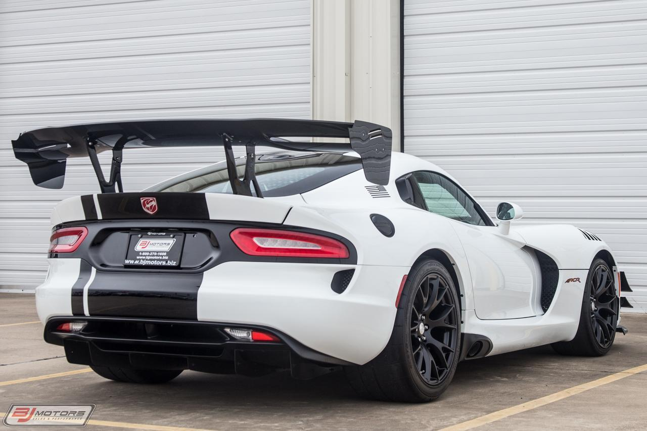 Dodge Viper For Sale >> Used 2017 Dodge Viper ACR For Sale ($149,995) | BJ Motors Stock #HV500075