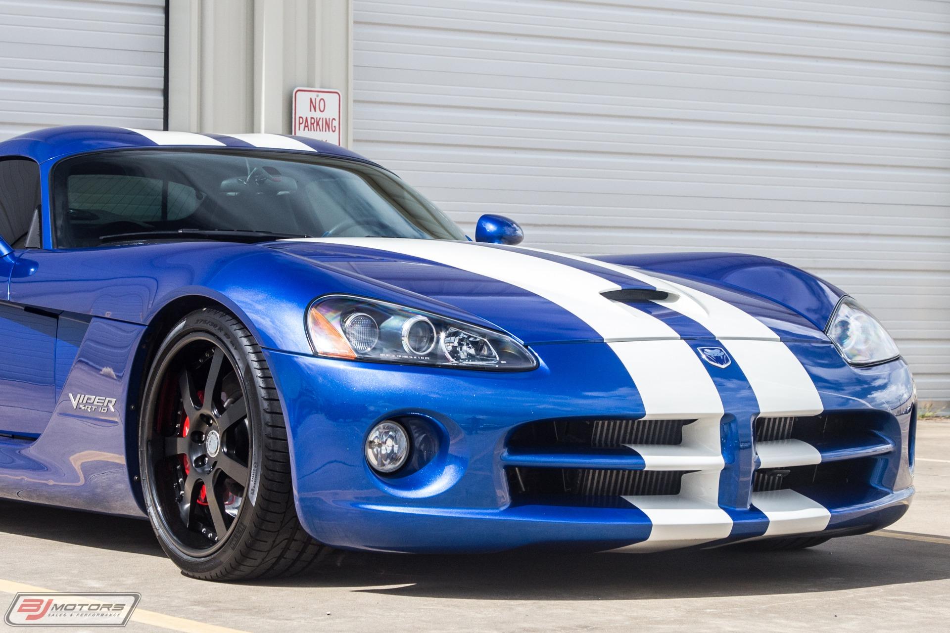Used-2006-Dodge-Viper-SRT-10-Underground-Racing-TT