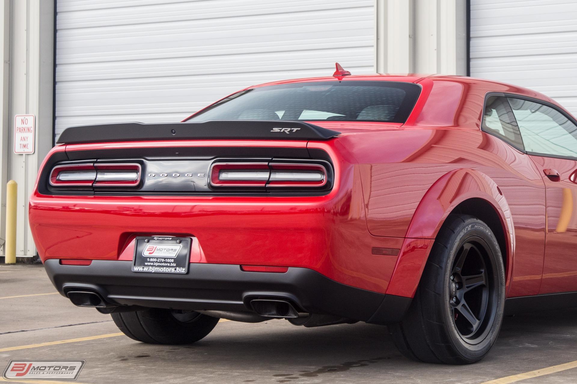 Used 2018 Dodge Challenger Srt Demon For Sale 114 995 Bj Motors