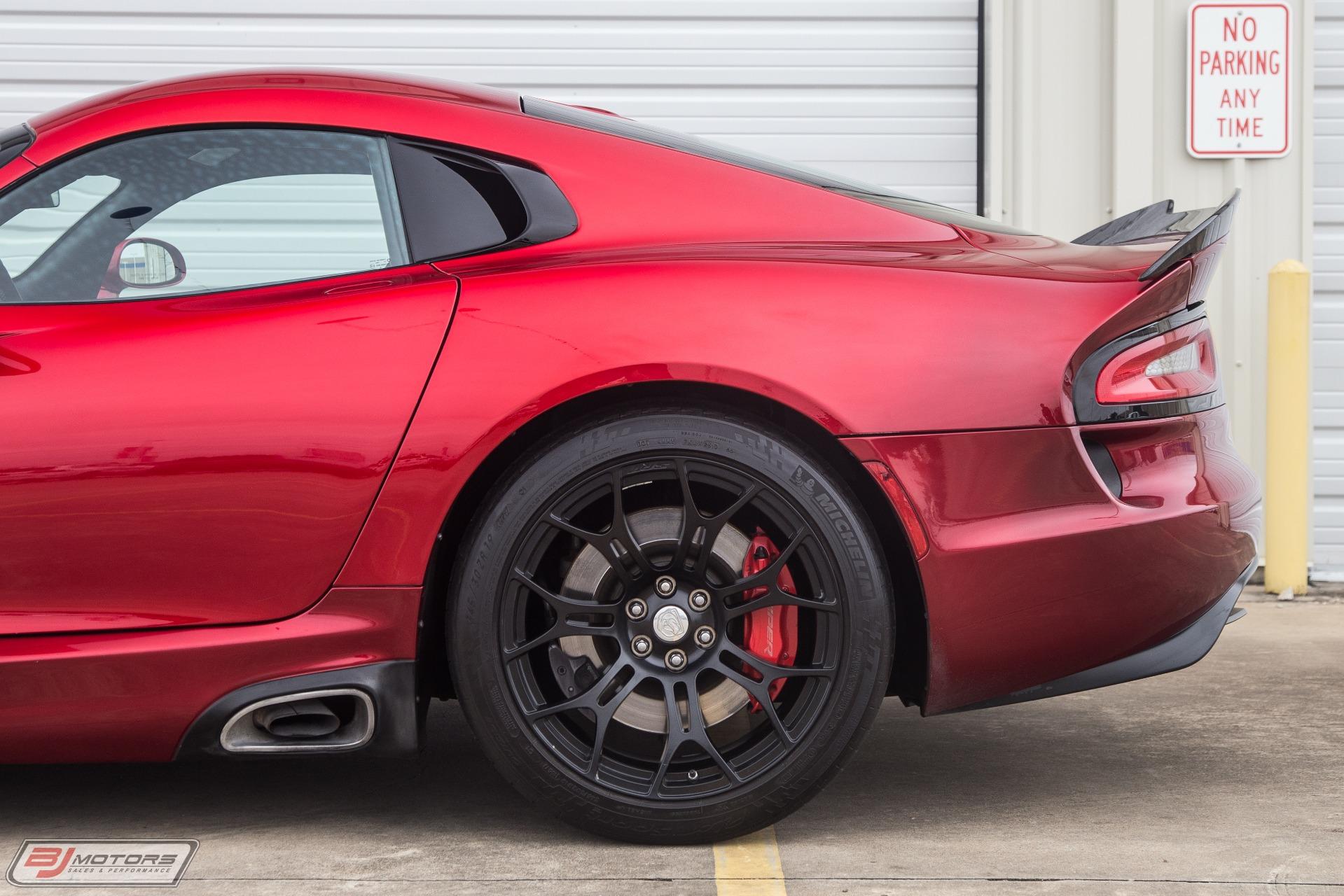 Used-2013-Dodge-SRT-Viper-GTS-Stryker-Red