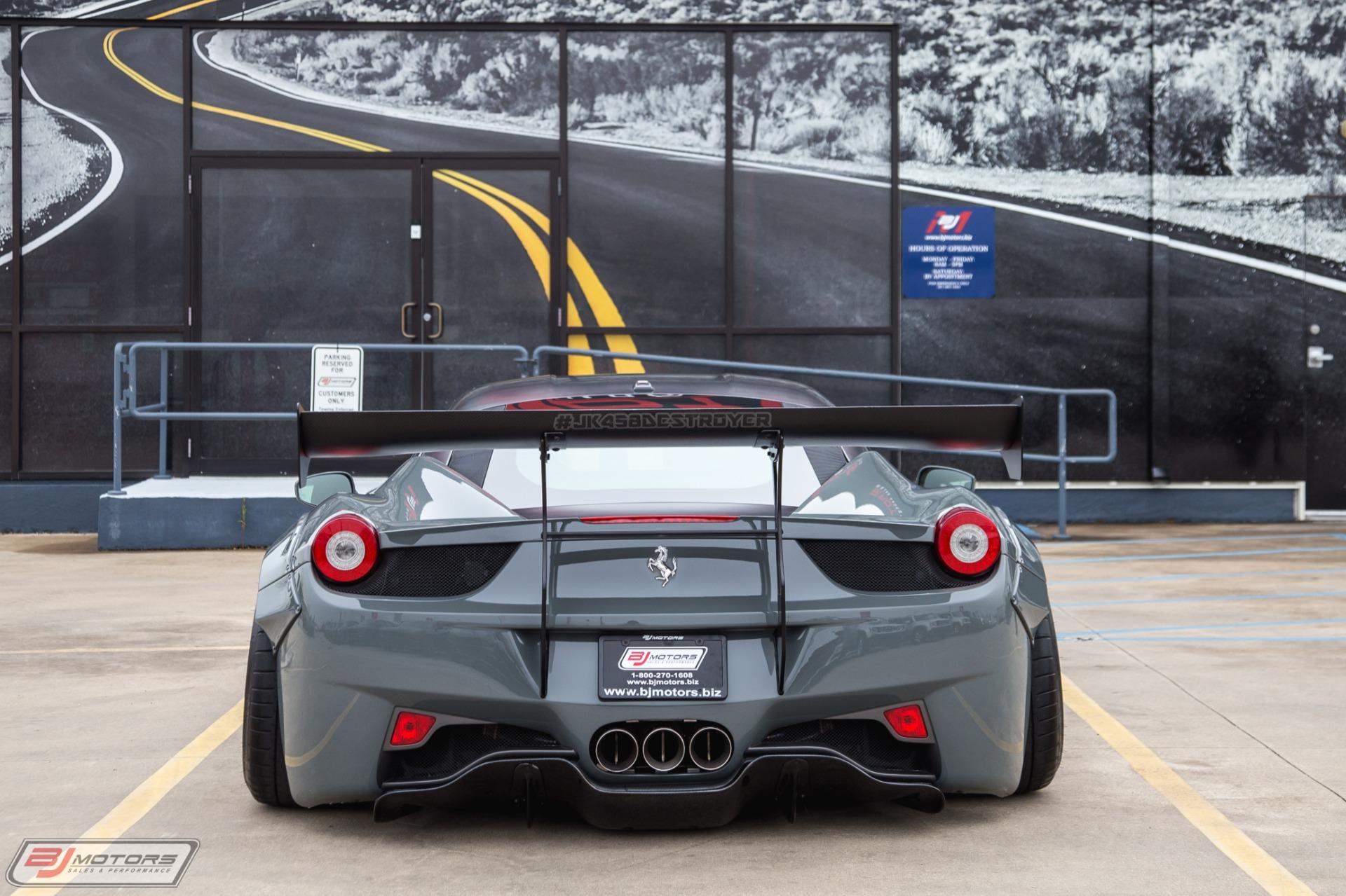 Used 2010 Ferrari 458 Italia Liberty Walk Sema Show 458 For