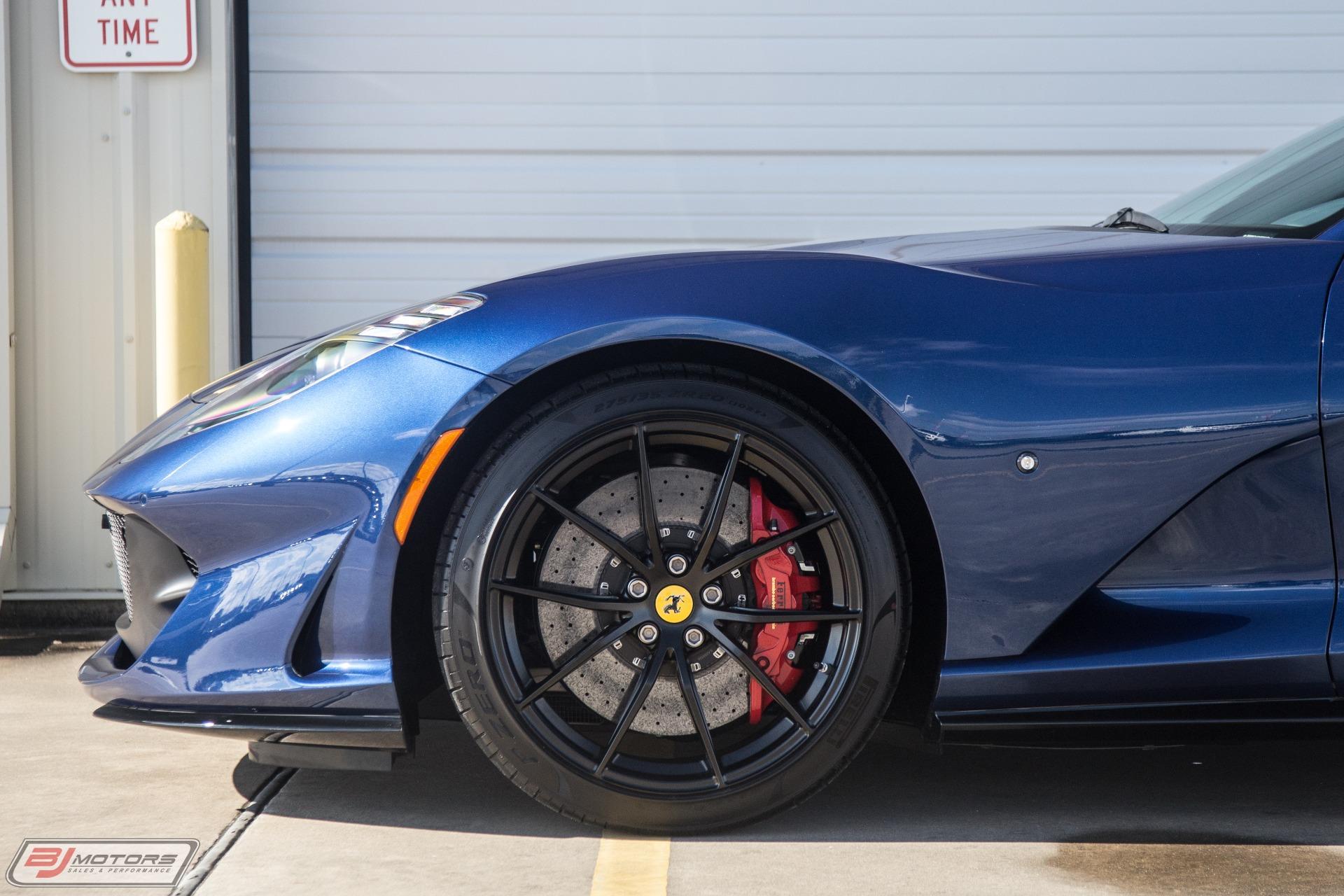 Used-2018-Ferrari-812-Superfast-TDF-Blue-w-Blue-Sterling-Chocolate