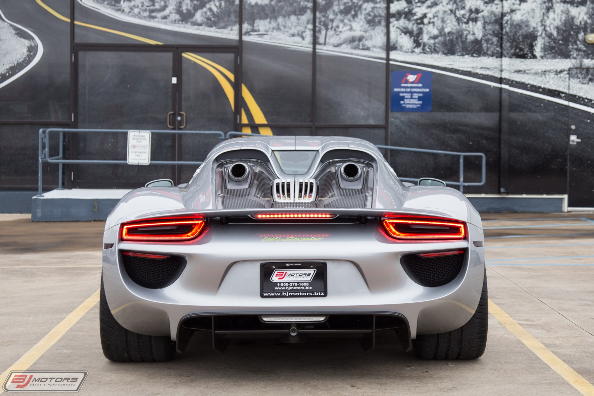 Used 2015 Porsche 918 Spyder For Sale ($1,539,500)