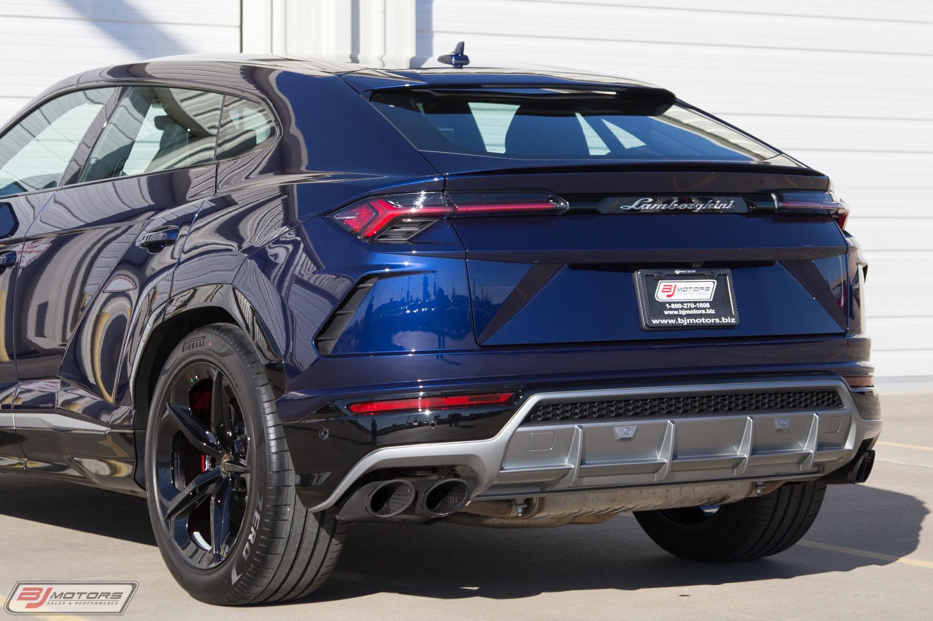 Used 2019 Lamborghini Urus For Sale 249 999 Bj Motors Stock