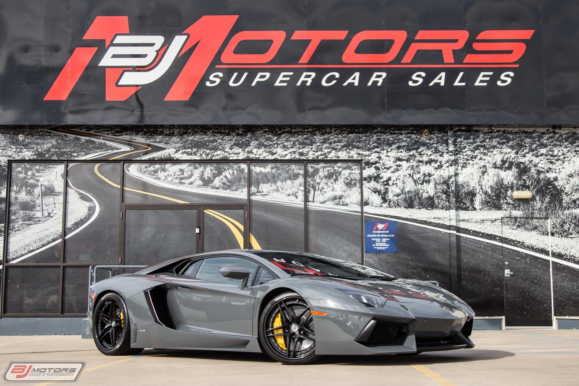Used 2012 Lamborghini Aventador Lp700 4 Underground Racing Twin