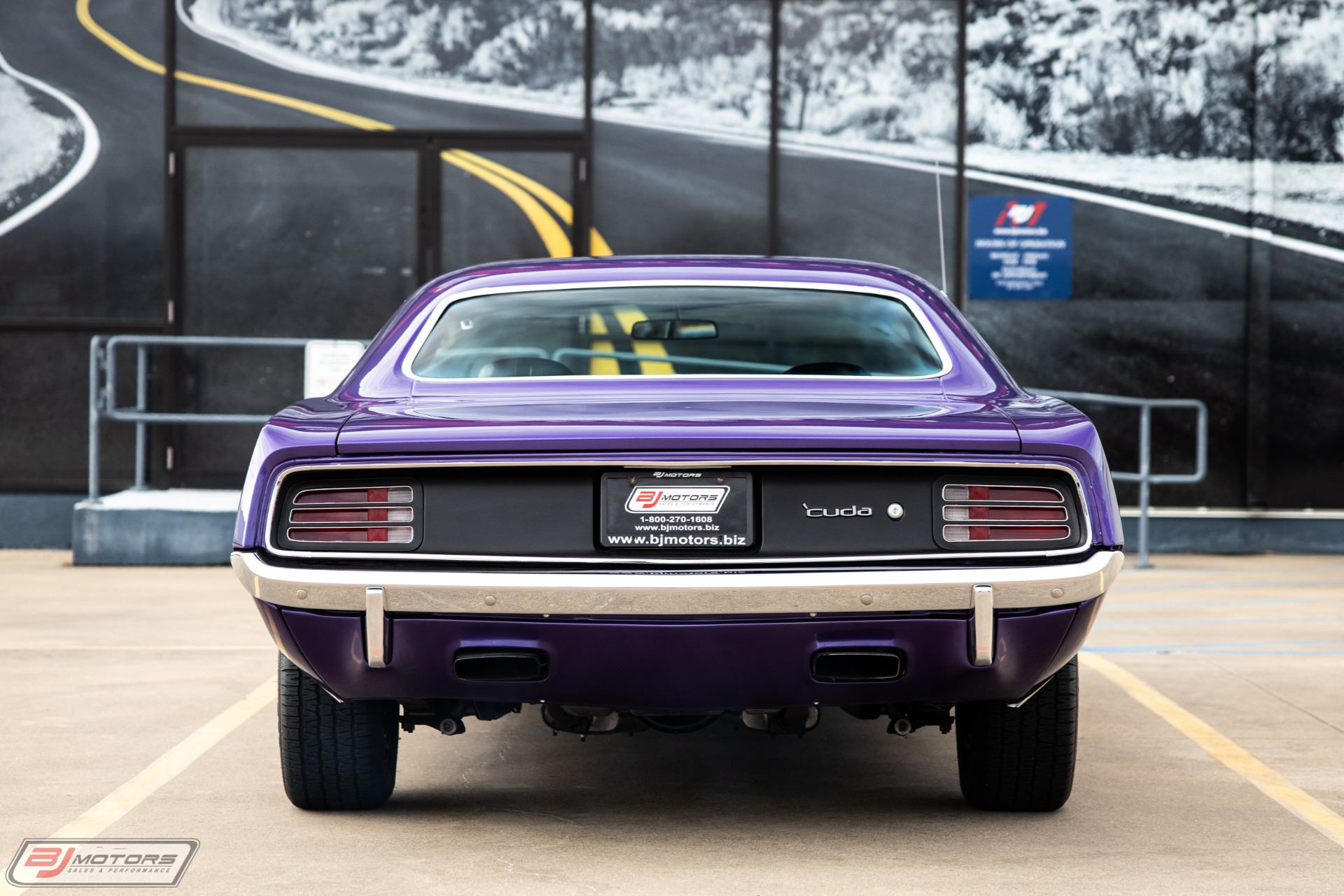 Used 1970 Plymouth Barracuda 440 Six Pack in Plum Crazy