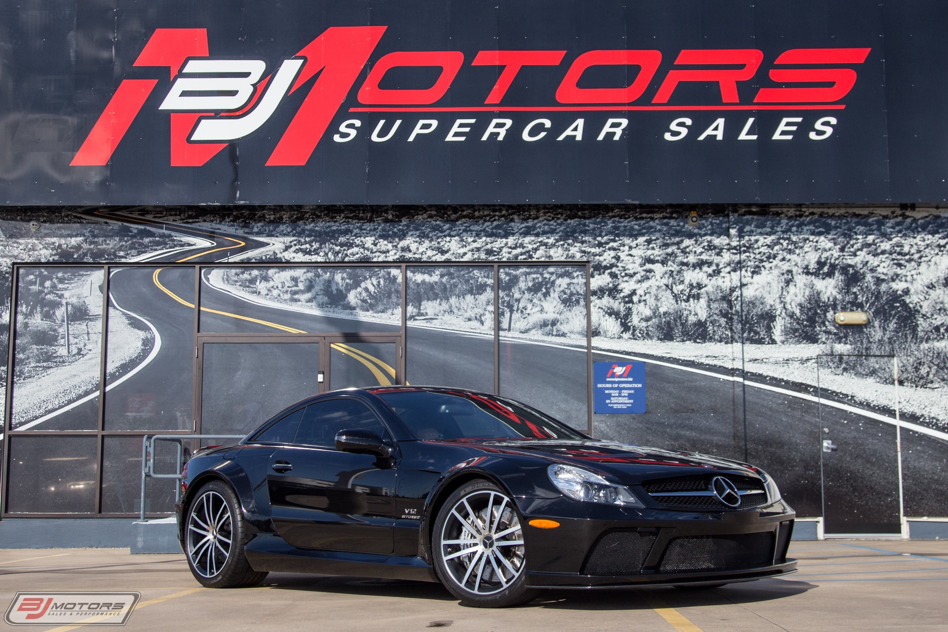 Used-2009-Mercedes-Benz-SL-65-1-of-175-Produced-for-USA-AMG-Black-Series