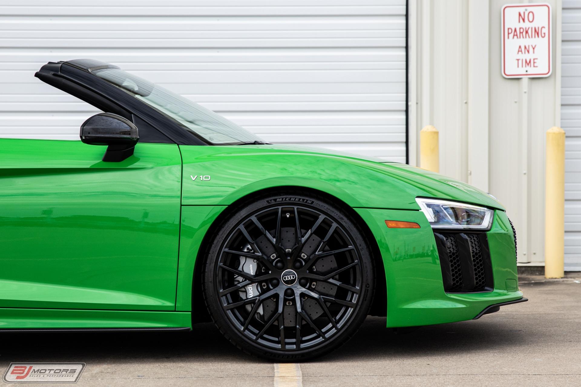 Used-2018-Audi-R8-52-Quattro-V10-Plus-Spyder