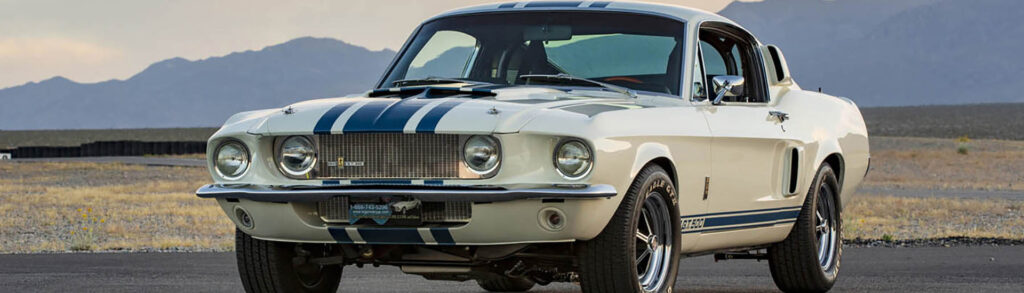 1967 Ford Mustang Shelby GT White