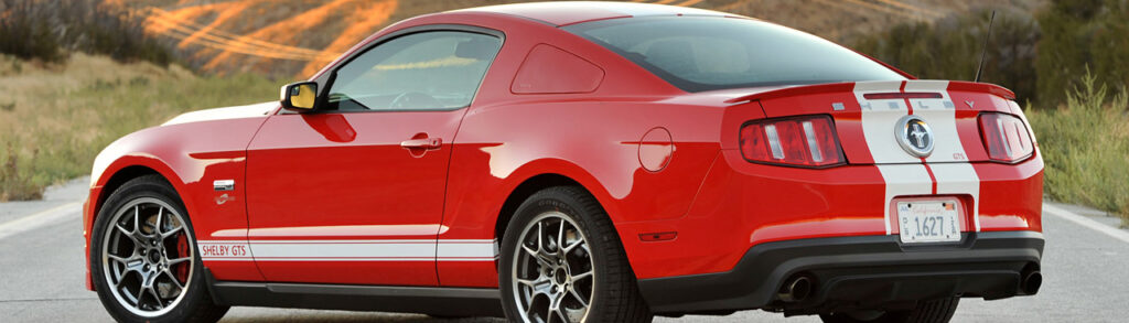 2012 Shelby GTS Red