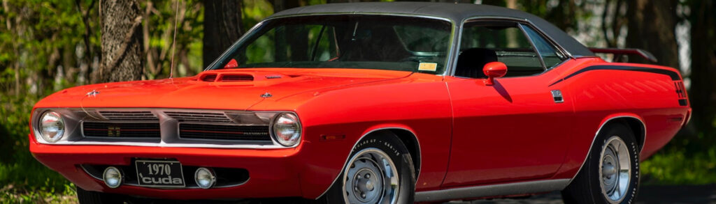 1970 Plymouth Cuda 440 Red